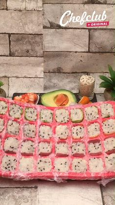 Sushi Recipes, Asian Recipes, Appetizer Recipes, Appetizers, Cooking Recipes, Cucumber Recipes, Quiche Recipes, Good Food, Yummy Food