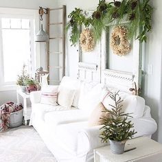fresh and light, Natural Christmas Decorations, Christmas Wreaths, Natural Garlands