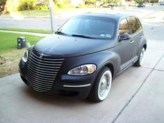 FS--my 2002 Rat Rod PT...flat black & full retro - PT Cruiser Forum