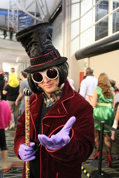 Willy Wonka #cosplay | SLCC 2013