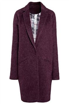 Purple Drawn Coat from the Next UK - my favourite this spring =))