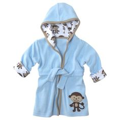 JUST ONE YOU  Made by Carters ® Newborn Boys' Hooded Monkey Robe