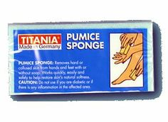 Titania Pumi Bar by Titania. $5.00. Titania Pumi Bar. The Pumice Pad is used on hands, feet, elbows and knees to smooth and soften skin. Titania-Colorful-Pumice Sponge