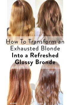 How To Transform an Exhausted Blonde into a Fresh Bronde Brassy Blonde, Dark Blonde, Subtle Balayage, Bronde Hair, Medium Blonde, Hair Starting, Color Your Hair, Summer Of Love, Exhausted