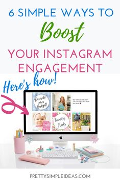 Instagram Marketing Tips, Instagram Tips, Social Media Calendar, Social Media Tips, Social Media Engagement, Blogging For Beginners, Simple Way, Gain Followers, Media Marketing
