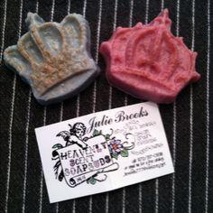 Yum...homemade glycerin soap!