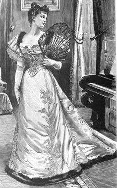 """La reputación de Worth tanto tenía que ver con la calidad de sus prendas como con sus innovaciones en siluetas. En 1856 fue el mayor impulsor de la crinolina hasta tal punto que le pusieron el nombre de """"Monsieur crinoline"""". Esta vino a sustituir la cantidad de enaguas superpuestas e impuestas por las modas de entonces. Worth no estaba demasiado satisfecho con ella, todos los diseñadores la utilizaban y la pusieron de moda a pesar de atribuírsele el mérito"""