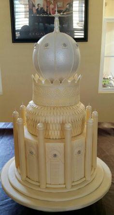 Mosque Cake