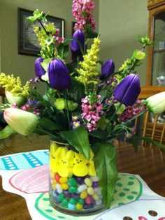 My Easter arrangement.