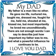 Quotes From Daughter Loving Father | Father's Day Quote,greetings | Inspirational Quotes - Pictures ...