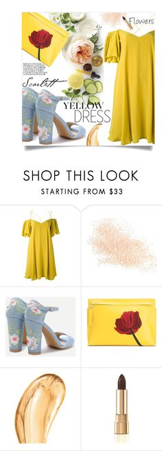 """F L O R"" by inspiration-moments13 ❤ liked on Polyvore featuring Essentiel, Eve Lom, Martha Stewart, Loewe, Tom Ford and Dolce&Gabbana"