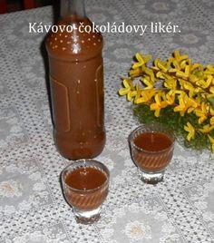 Fotorecept: Kávovo-čokoládový likér - Recept pre každého kuchára, množstvo receptov pre pečenie a varenie. Recepty pre chutný život. Slovenské jedlá a medzinárodná kuchyňa