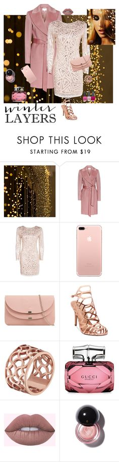 """film festival day to night -.contest"" by the-vintage-palace2016 ❤ liked on Polyvore featuring Boohoo, Madden Girl, Tartesia, Gucci and OPI"