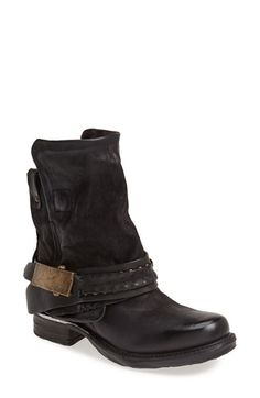 Free shipping and returns on A.S.98 A.S. 98 'Sebastian' Ankle Boot (Women) at Nordstrom.com. A slouchy, distressed leather ankle boot finishes your look with a bold vintage statement.