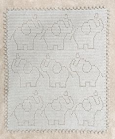 Filet Crochet, Basic Crochet Stitches, Crochet Basics, Crochet Blanket Patterns, Baby Blanket Crochet, Snuggle Blanket, Toddler Blanket, Crochet Elephant Pattern, Elephant Baby Blanket