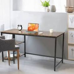 Beachcrest Home Cyra L Shaped Desk & Reviews | Wayfair Home Office Desks, Office Furniture, L Shaped Executive Desk, Gaming Desk, Computer Desk Setup, Desk Hutch, Best Desk, L Shaped Desk, Modern Desk