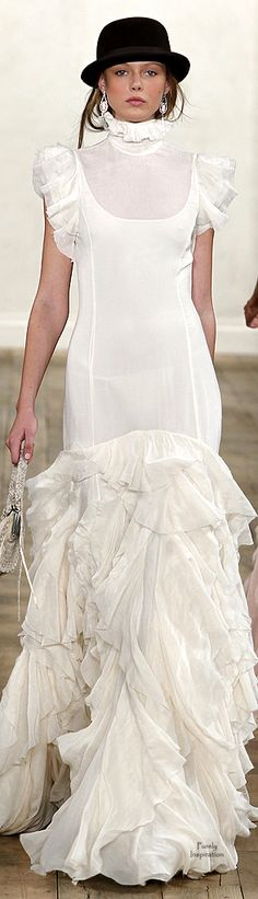 Ralph Lauren.  Don't care for the top third, but the rest of it is gorgeous.