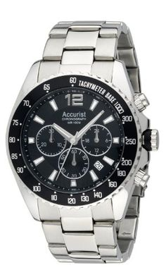 Accurist Men's Chronograph Watch MB936BB: Accurist: Amazon.co.uk: Watches