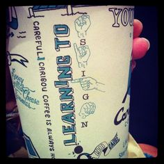 Go Caribou Coffee! One more reason why they are cooler than Starbucks.