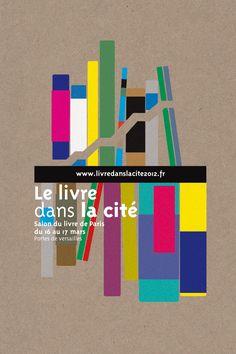 Séverine Lorant - le jardin graphique -  identité graphique Salon du livre de Paris -stand du Ministère de la culture et de la communication