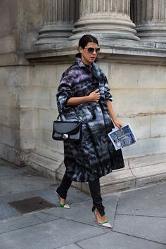 #fashion-ivabellini At Louis Vuitton, Paris « The Sartorialist
