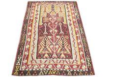 Small size kilim rug Turkish Oriental Floor rug Kilim chevron kilim ethnic kilim rug Handwoven kilim Decorative kilim  bohemian kilim Y-384
