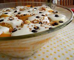 Duxa´s Kitchen: Trifle de Pêssegos