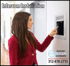 Chicago Locksmiths does all types of intercom installation in Chicago for your home, building, business or office they got you covered.