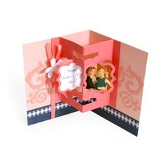 Happy Mother's Day Floating Frame Pop-Up Card
