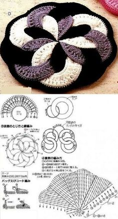 Crochet Mandala Potholder Projects Ideas For 2019