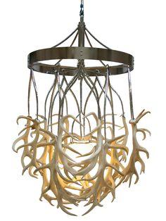 antler lighting | Antler Chandelier | Atelier Randall