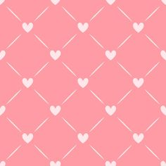 Reusable Wall Stencil Geometric With Hearts Allover Pattern.  Available In 10 or 14 Mil Mylar at no extra charge.  SKU: S0060 de StencilMall en Etsy https://www.etsy.com/es/listing/230043878/reusable-wall-stencil-geometric-with