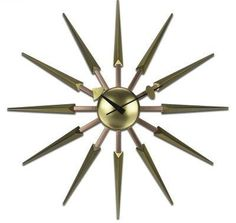 鎏時空間《設計師 時鐘 掛鐘 金屬鐘 現代造型鐘‧現代風格 耀眼光芒掛鐘-金色款》 定  價 $2,980 / 已售出 0 件 數  量  Decrease  1  Increase