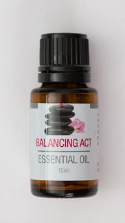 New! Balancing Act essential oil blend is a specially formulated combination of oils that can help elevate your mood and reduce signs associated with hormone levels. 15 ml amber bottle. Ingredients: blend of organic rose geranium, clary sage, rose moroccan absolute, jasmine grand absolute  Oils are 3rd party tested to ensure therapeutic grade quality. None of the oils have been diluted or synthetically altered. These essential oils have not been evaluated by the Food and Drug Administration…