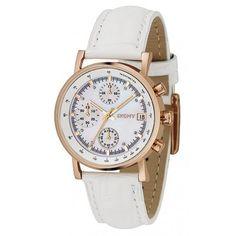Dkny NY4578 Women s White Leather Analog Quartz Watch 64ed2a346e
