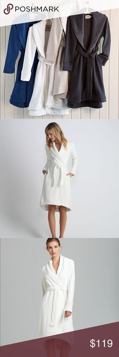 Ugg Duffield Robe Perfect Mother's Day gift or a gift for yourself. Gorgeous and plush Ugg robe to keep the morning chill off or chic lounging around the house. NWT. Comes with the Nordstoms tag still attached. UGG Intimates & Sleepwear