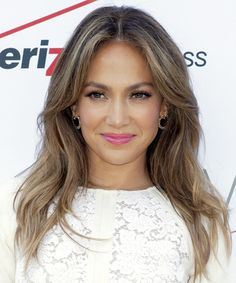 Jennifer Lopez Hairstyle - Casual Long Straight