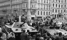 In Soviet troops marched into Czechoslovakia, ending the brief, exuberant Prague Spring. The legacy of the invasion is evident in the modern-day Czech Republic — one need look no further than the prime minister. Prague Spring, Prague Old Town, Warsaw Pact, Visit Prague, Canadian History, Political Events, World Pictures, Historical Photos, Troops