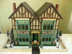 """Antique Tudor DOLL HOUSE 3/4"""" Scale HOBBIES OF DEREHAM Special No.186  c.1934  #HobbiesofDereham #Tudor"""