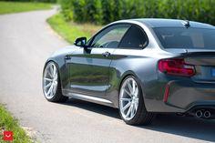 #BMW #F87 #M2 #Coupe #MineralGreyMetallic #VOSSENWheels #Provocative #Eyes #Hot #Sexy #Freedom #Badass #Burn #Live #Life #Love #Follow #your #Heart #BMWLife