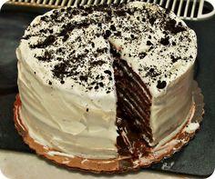 Smith Island Cake Recipe (recipe for strawberry cream icing on the bottom) Grubarazzi: Smith Island: Layers of Tranquility and Cake