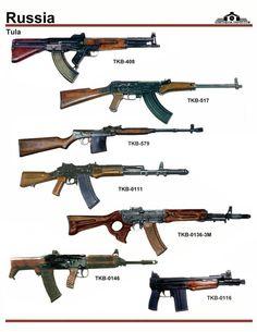 Russian prototype rifles