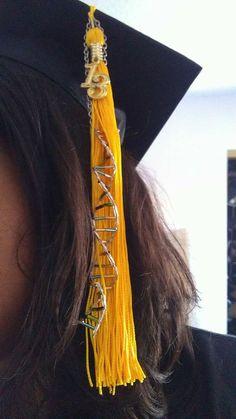 Biology/Science DNA graduation cap tassel decoration