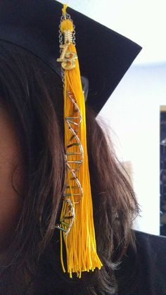 Biology/Science DNA graduation cap tassel decoration