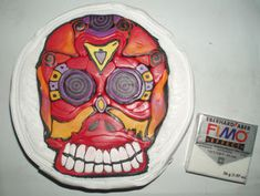 Corinne Muller's Day of the Dead cane