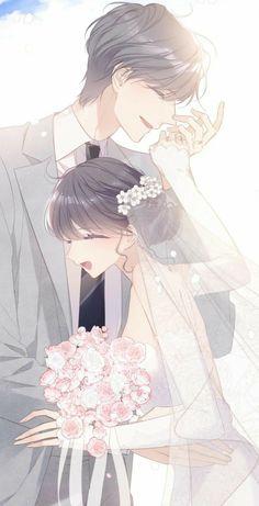 Anime Couples Drawings, Anime Couples Manga, Anime Poses, Romantic Anime Couples, Romantic Manga, Anime Cupples, Anime Angel, Manga Watercolor, Anime Couple Kiss