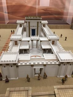 Idea Portal, Study Tonight, Third Temple, Fontanini Nativity, Toy Castle, Bible Story Crafts, Bible Illustrations, Wargaming Terrain, Wooden House
