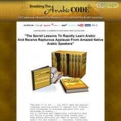 Now Paying 75%! 1000s Of People Search Google To Learn Arabic Everyday! Killer Pitch Page. Http://www.breakingthearabiccode.com/affiliates.html For Affiliate Tools. See more! : http://get-now.natantoday.com/lp.php?target=breakcode