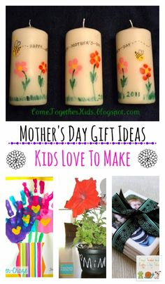 Mother's Day Gift Ideas kids can make