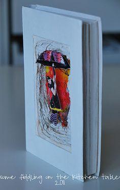beautiful altered book